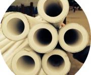Трубы ПП армированные алюминием наруж. PN25