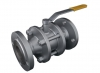Кран стальной шаровый (шаровой) фланцевый BREEZE тип 11с64п диаметр d-25
