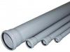 Труба серая канализационная с раструбом D 50 - 1м