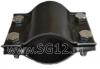 Хомут ремонтный для труб (стальной двухсторонний) диаметр d - 15