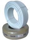 Труба металлопластиковая бесшовная в бухтах по 100, 200 метров (для отопления и теплого пола) диаметр D 16